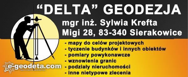DELTA GEODEZJA mgr inż. Sylwia Krefta
