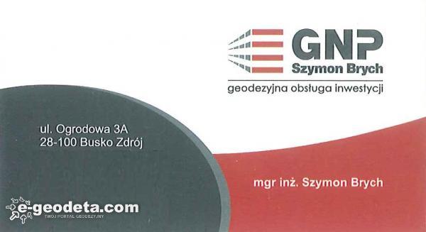 GNP-Szymon Brych - Geodezyjna obsługa inwestycji