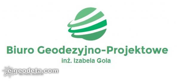 Geodeta uprawniony Izabela Gola